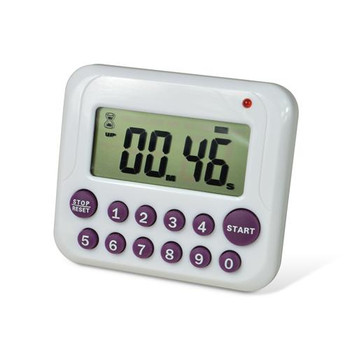 B61700-3500 Bel-Art Products H-B DURAC Single Channel Timer with 10-Button Direct Input H-B Instrument Durac Timer, Direct Input Each of  1