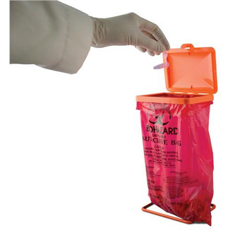 F13193-0102 Bel-Art Products Sciencewarea???? Poxygrida???? Bench-Top Biohazard Bag Holder Kit Cover only Each of  1
