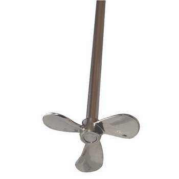"A166 Caframo Impellers & Shafts for  Overhead Stirrers Propeller, Pitched Blade with 16"" (Each of  1)"