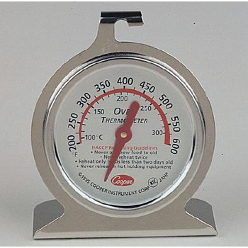 24HP-01-1 Cooper-Atkins Oven Thermometer, HACCP OVEN THERMOMETER, HACCP Each of  1