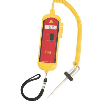 50207-T Cooper-Atkins 313 Series Digital Thermometers and Probe Needle Type T Probe 3\ Each of  1