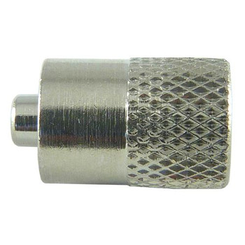 6450IND Cadence Science Luer-to-Closed End Adapters Adapter, 316 Stainless, MICRO-MATE Female Luer Lock to Closed End Package of  5