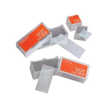 2980-245 Corning Cover Glass Cover Glass, No. 1 1/2, Rectangle 24 X 50mm Case of  1000
