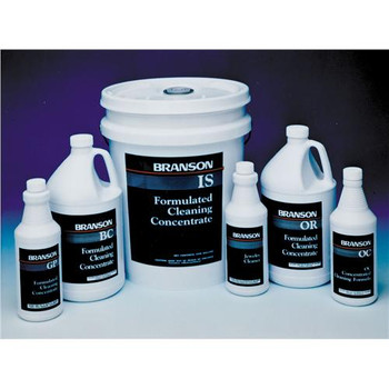 00-955-114  Branson Concentrated Cleaning Chemistries for use in Ultrasonic Cleaners Industrial Strength, 12-qt  (Each of 1)
