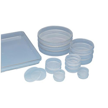 Thermo Scientific Nunc 153066 Sterile Culture Dishes, Nunclon Treated, Round Cell Culture Dish w / Lid Vented Sterile PS 8.8 cm2 35 X 10 mm  (Case of 500)
