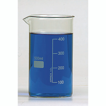 BG1040-100 United Scientific Supplies Tall Form Berzelius Beakers without Spout (Package of 12)