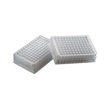 2612-07 Thermo Scientific Nunc Plate 96 Well PP Deepwell Rnd Btm Low Profile Sterile w / o Lid Nat 1 ml Well (Case of 50)