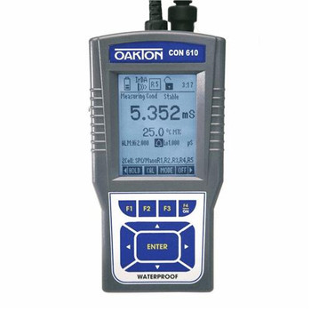 Oakton WD-35408-12 Waterproof CON 600 Series Conductivity Meters Waterproof CON 610 Meter Only  (Each of 1)