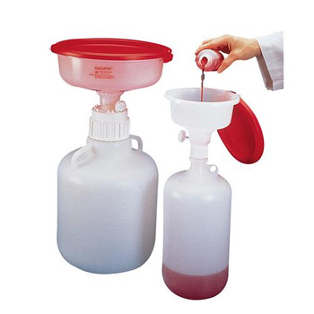 6379-0004 Thermo Scientific Nalgene SAFETY WASTE SYSTEM, 4 L Container with 5.5' Funnel (Each of 1)