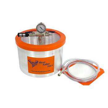 Best Value Vacs BVV10G BestValueVac Vacuum & Degassing Chambers Vacuum & Degassing Chamber, 10 Gallon  (Each of 1)