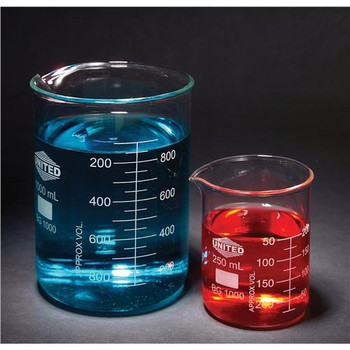 United Scientific Supplies BG1000-10000 Glass Beaker, Low Form 10000ml Glass Beaker, Low Form  (Each of 1)