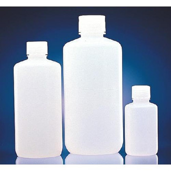 209047 DWK Life Sciences (Wheaton) Clear HDPE Narrow Mouth Bottles Btl HDPE Narrow Mouth 125 ml Package of  12