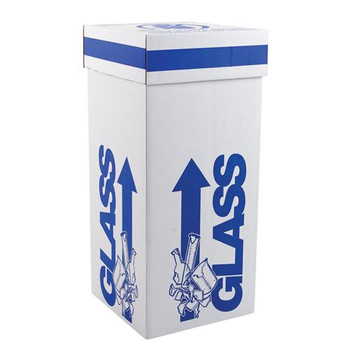 797035 Dynalon Glass Disposal Boxes Glass Disposal Box, Intermediate, 12 x 12 x 20\ Case of  6