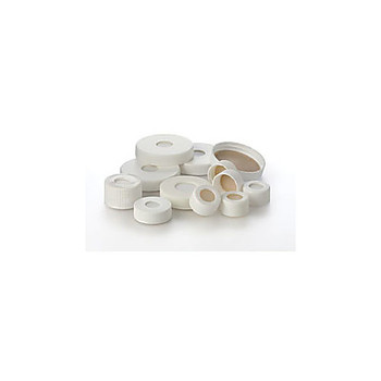 24-414/WS-3M EP Scientific Products Replacement Caps & Septa for Standard Size Containers White 24-414 open-top closure with bonded 0.125\ Case of  1000