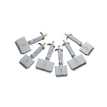 3125000036 Eppendorf Research Plus Adjustable-Volume Multi-Channel Pipettes Pipette Research Plus, 8-Channel 10-100uL Each of  1
