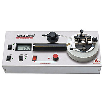 RT-00001-600 Erdco Engineering Semi-Automatic Flash Point Testers RAPID TESTER, Stainless Steel Test Cup, Standard Black Metal Lid & Shutter Each of  1