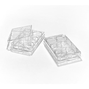 222-8048-01F Evergreen Scientific Untreated, Sterile Microplates Sterile, untreated 6-well microplate, flat bottom, w/lid, polystyrene Case of  100