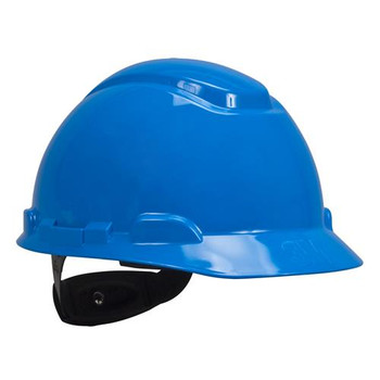3M Safety H-703R-UV-CS Hard Hat w/ UVicator, Blue ( Case of 20)