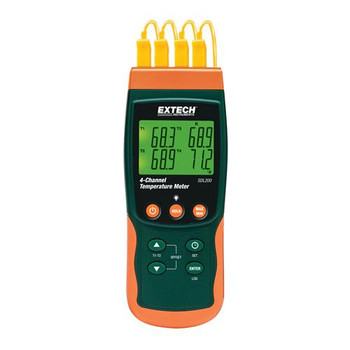 SDL200 Extech 4-Channel Datalogging Thermometer 4-Channel Datalogging Thermometer Each of  1