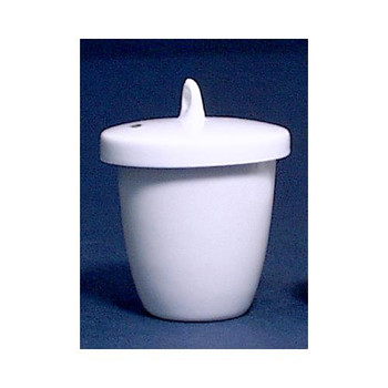 GSC International, Inc. CLF-15-20 Porcelain Crucibles with Lids Crucible, Porcelain, Low Form, w/Lid, 15ml  (Each of 1)