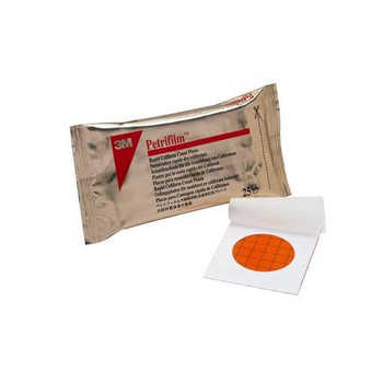1917-07 3M Food Safety Petrifilm Rapid Coliform Plate (Box of 50)