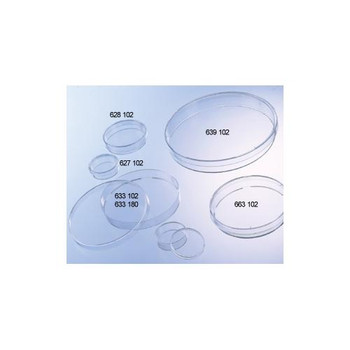 632180 Greiner Bio-One Petri Dishes Petri Dish, PS, 94 x 16 mm, 57 Square cm, without Vents Case of  480