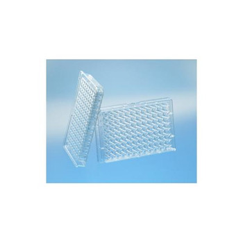 675101 Greiner Bio-One 96 Well Half Area Microplate, Clear 96W Half Area Plate, PS, Flat Bottom, Chimney Style, Clear Case of  40