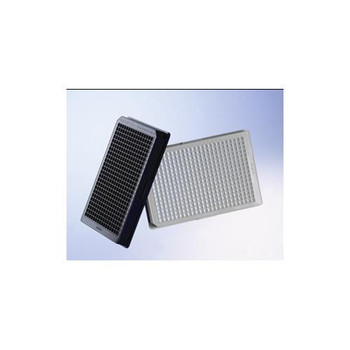 781086 Greiner Bio-One 384 Well CELLSTARa???? Cell Culture Microplates 384W CELLSTAR Plate, PS, TC Treated, Sterile, Flat Bottom, Black, with Lid Case of  32