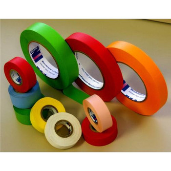TC-10-RNBW Nev's Ink Label Tape, Rainbow, 1\ (Case of 12)