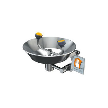 G1891 Guardian All-Stainless Steel Wall-Mounted Eyewash Eyewash, Wall Mounted, All-Stainless Steel Each of  1