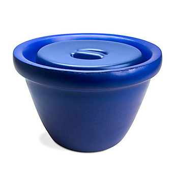 Bel-Art Products M18848-4001 Magic Touch Ice Buckets Ice Bucket, 4.0L, Blue w/ Lid  (Each of 1)