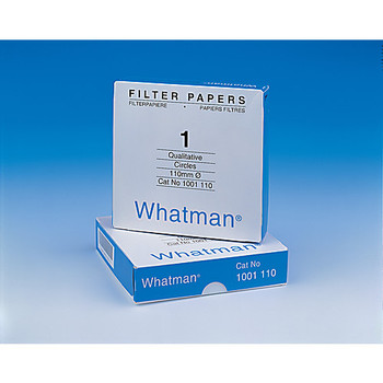 1001-025 GE Healthcare Whatman Grade 1 Qualitative Filter Papers Grade 1 Qualitative Filter Paper Standard Grade, circle, 25 mm Package of  400