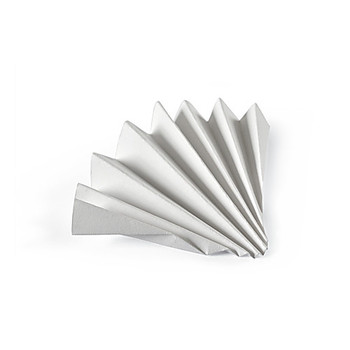 10314744 GE Healthcare Whatman Grade 1573 a????? Qualitative Filter Papers Grade 1573 a????? Qualitative Filter Paper Folded (Prepleated), 125 mm Package of  100