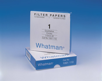 1003-110 GE Healthcare Whatman Grade 3 Qualitative Filter Papers Grade 3 Qualitative Filter Paper Standard Grade, circle, 110 mm Package of 100