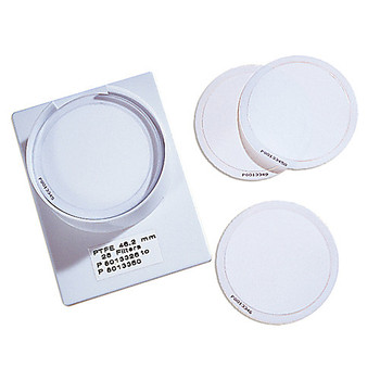 7592-104 GE Healthcare Whatman PM2.5 Air Monitoring Membrane Filters PM2.5 PTFE Membrane Filter, 46.2 mm with support ring, sequentially numbered (50 pcs) Package of  50