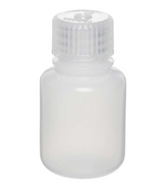 Thermo Scientific Nalgene 2002-0001  Narrow Mouth Bottle HDPE 30 ml  (Package of 12)