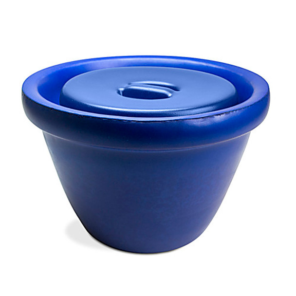Bel-Art Products M18848-2001 Magic Touch Ice Buckets Ice Bucket, 2.5L, Blue w/ Lid  (Each of 1)