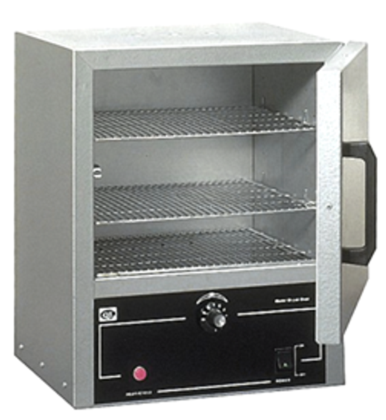 Quincy Lab 10GC Gravity Convection Oven for drying, baking, curing, sterilizing, evaporating, heat treating, annealing, and testing.