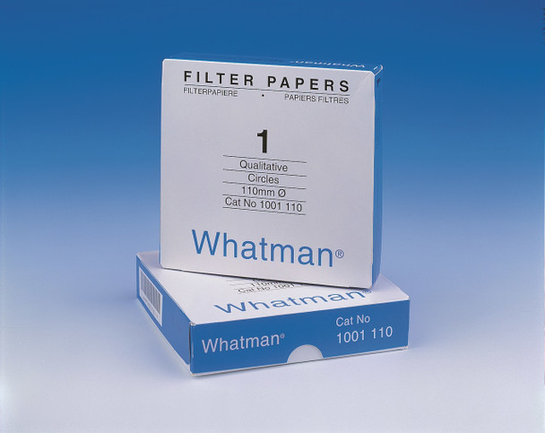 GE Healthcare 1006-110 Whatman Grade 6 Qualitative Filter Papers Grade 6 Qualitative Filter Paper Standard Grade, circle, 110 mm (Package of 100)