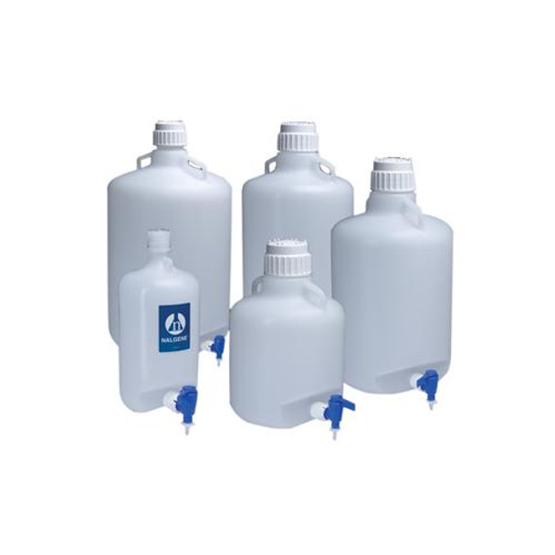2318-0050 Thermo Scientific Nalgene Low-Density polyethylene carboys Carboy With Spigot LDPE 20 L Each of  1