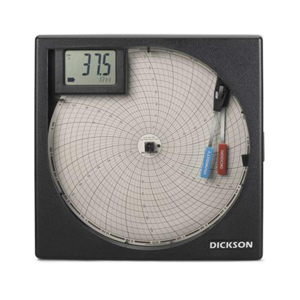 Dickson TH8P2 8\ Chart Recorder 8\  (Each of 1)