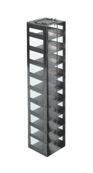 RCDP10A Argos Technologies Chest Freezer Vertical Rack for 96 - Deep Well Plates, Holds 10 Plates, Stainless Steel (1 Rack)