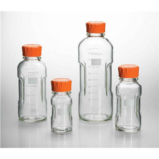 c96d492d6559 Corning 1399-500 PYREX Slim Line Storage Bottles Slim Line Media Storage  Bottle, 500 mL (Case of 4)