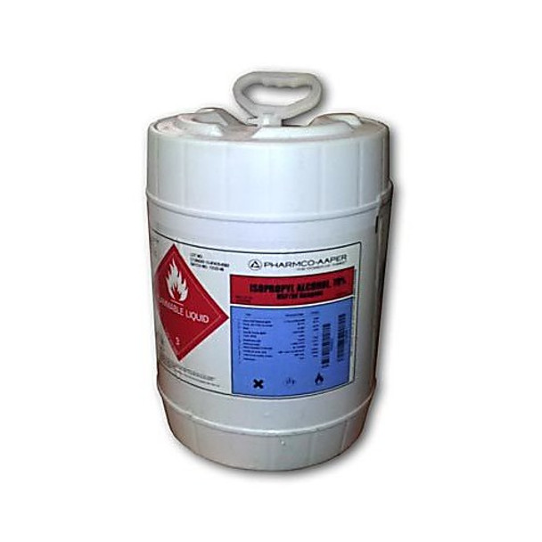 PHARMCO-AAPER 231USPNFPL05 Isopropyl Alcohol, 99% ACS Reagent USP/NF Grade, 5 Gallon Polydrum Isopropyl Alcohol 99.9% ACS Reagent Grade and USP/NF Grade, Polydrum, 5GL/EA (Each of  1)