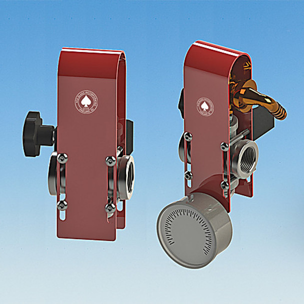 Ace Glass 12194-20-EA Pressure relief manifold set,stand mounted,m16x1 union,(1) inlet & (1) outlet ( Each of 1)