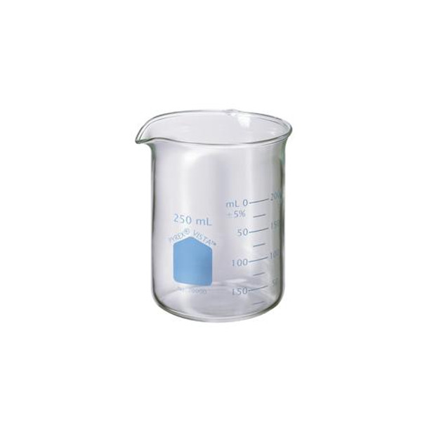 70000-20 Corning PYREX VISTAA Griffin Low Form Beakers Pyrex Vista Griffin Beaker, 20 ml Package of  12