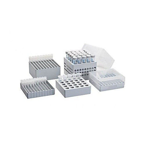 30140508 Eppendorf Storage Boxes Storage Box 10 x 10, for 100 cryogenic tubes with internal threading, 2\ Case of  3
