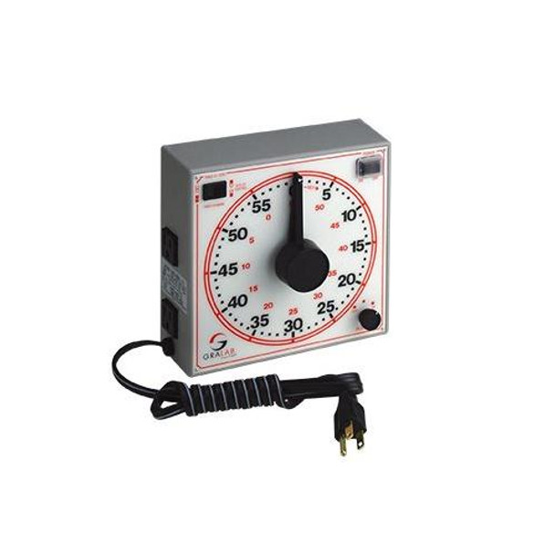 GraLab 171-160R Model 171 60-Minute General Purpose Timers Model 171 60-Minute Timer, 120V/60Hz  (Each of 1)