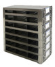 RDS2537A Argos Technologies Upright Freezer Drawer Rack for 25 Place Slide Boxes, Holds 21 Boxes, Stainless Steel (1 Rack)