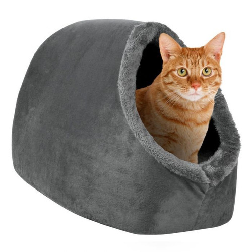 Grey Cosy Cat Hideout